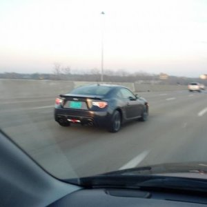 This BRZ with Mfg plates was spotted on I-270 in columbus the week prior to the auto show. I was told by one of the Subaru Reps that this car was more